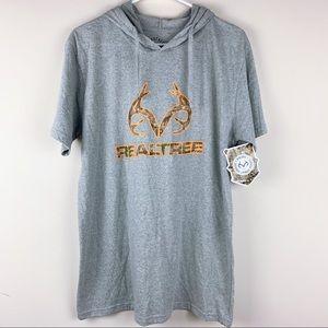 NWT Realtree Graphic T-shirt Hoodie